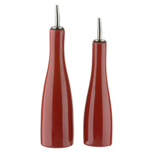 SCOOP! Oil & Vinegar Set Red