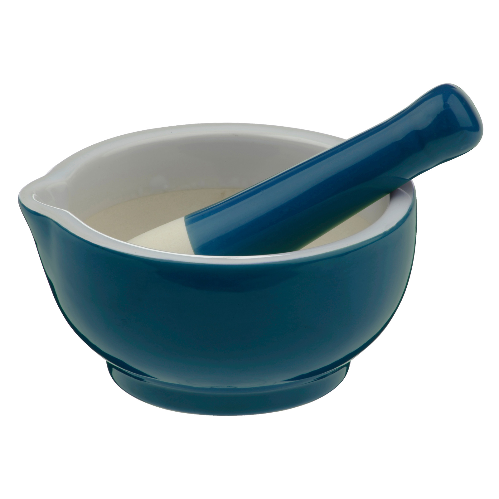 SCOOP! Mortar & Pestle Teal