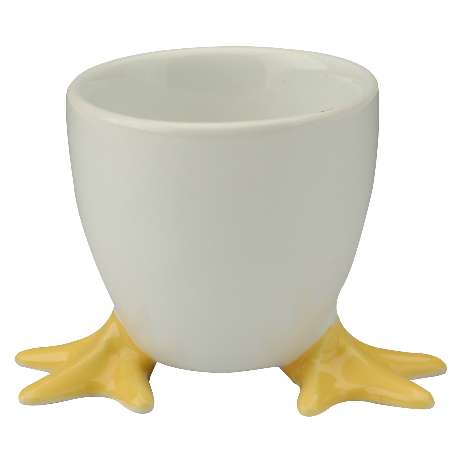 Chicken Feet Egg Cup with Yellow Feet