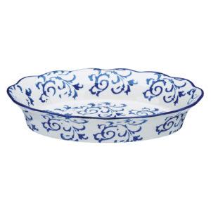 Heritage Oval Roaster Blue