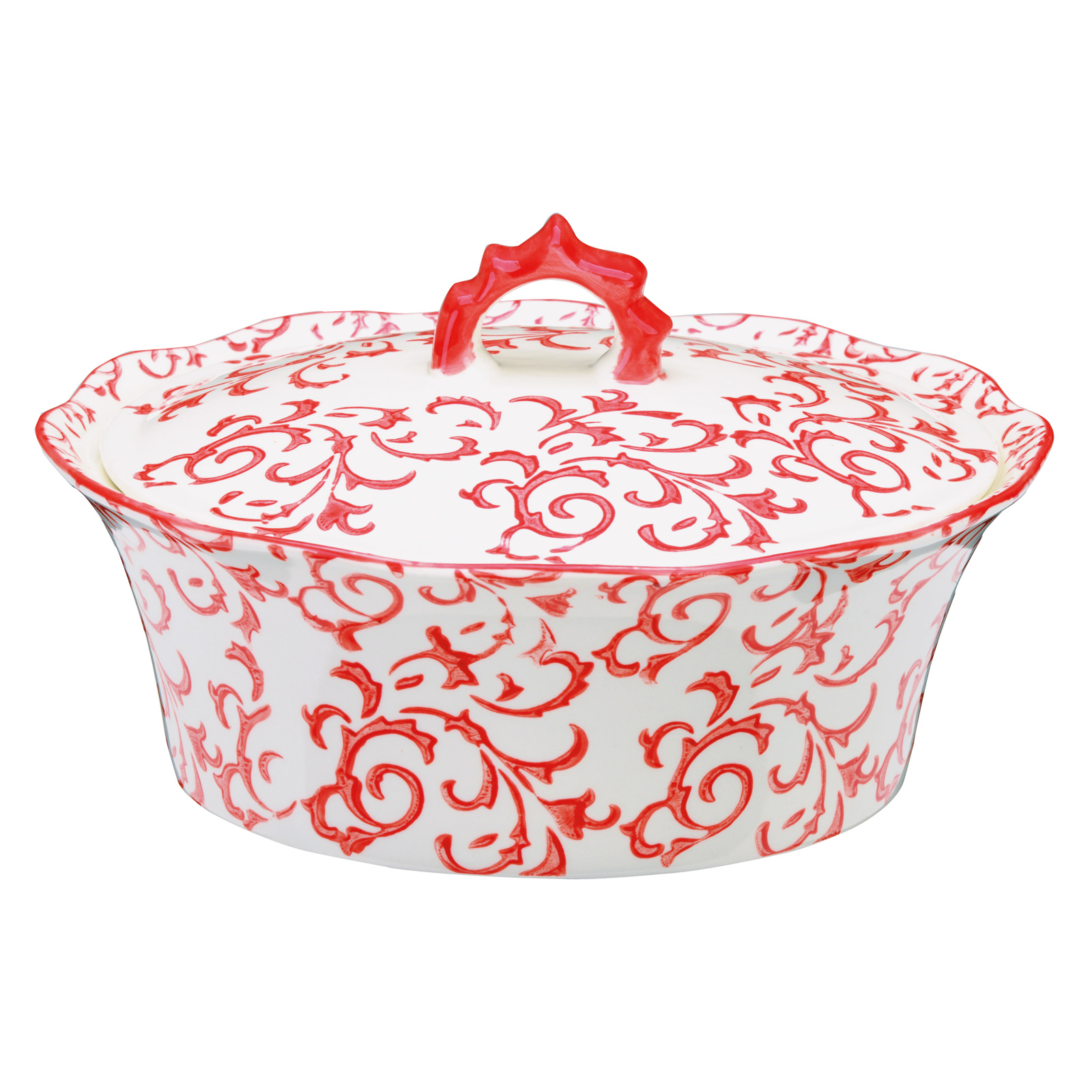 Heritage Casserole Red