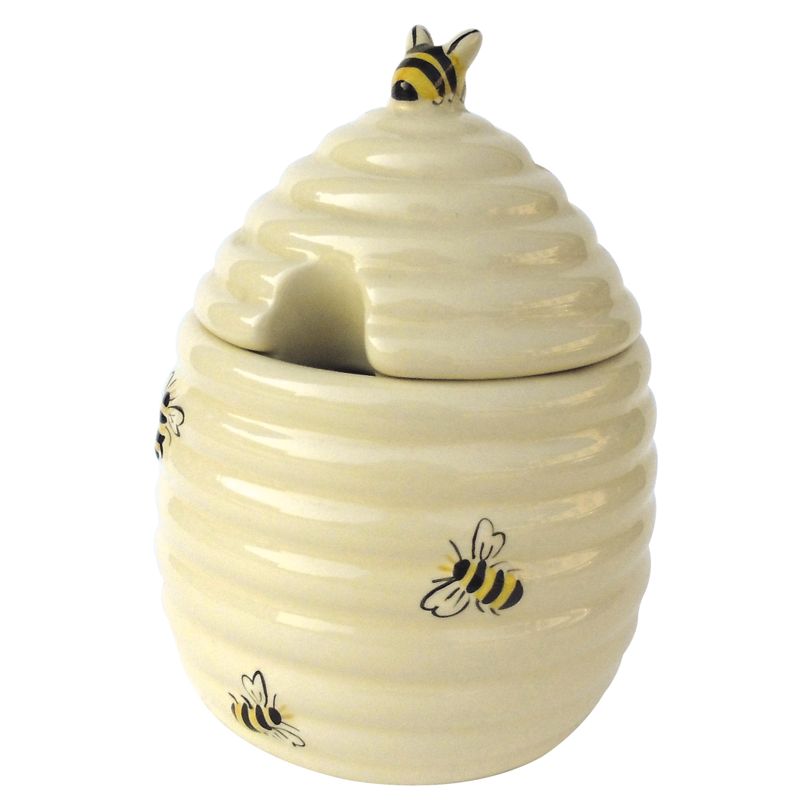 Honey Bees Honey Pot