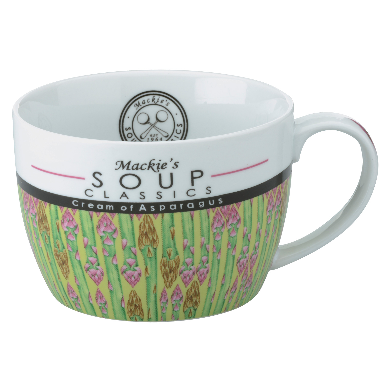 Mackie's Cream of Asparagus Soup Mug