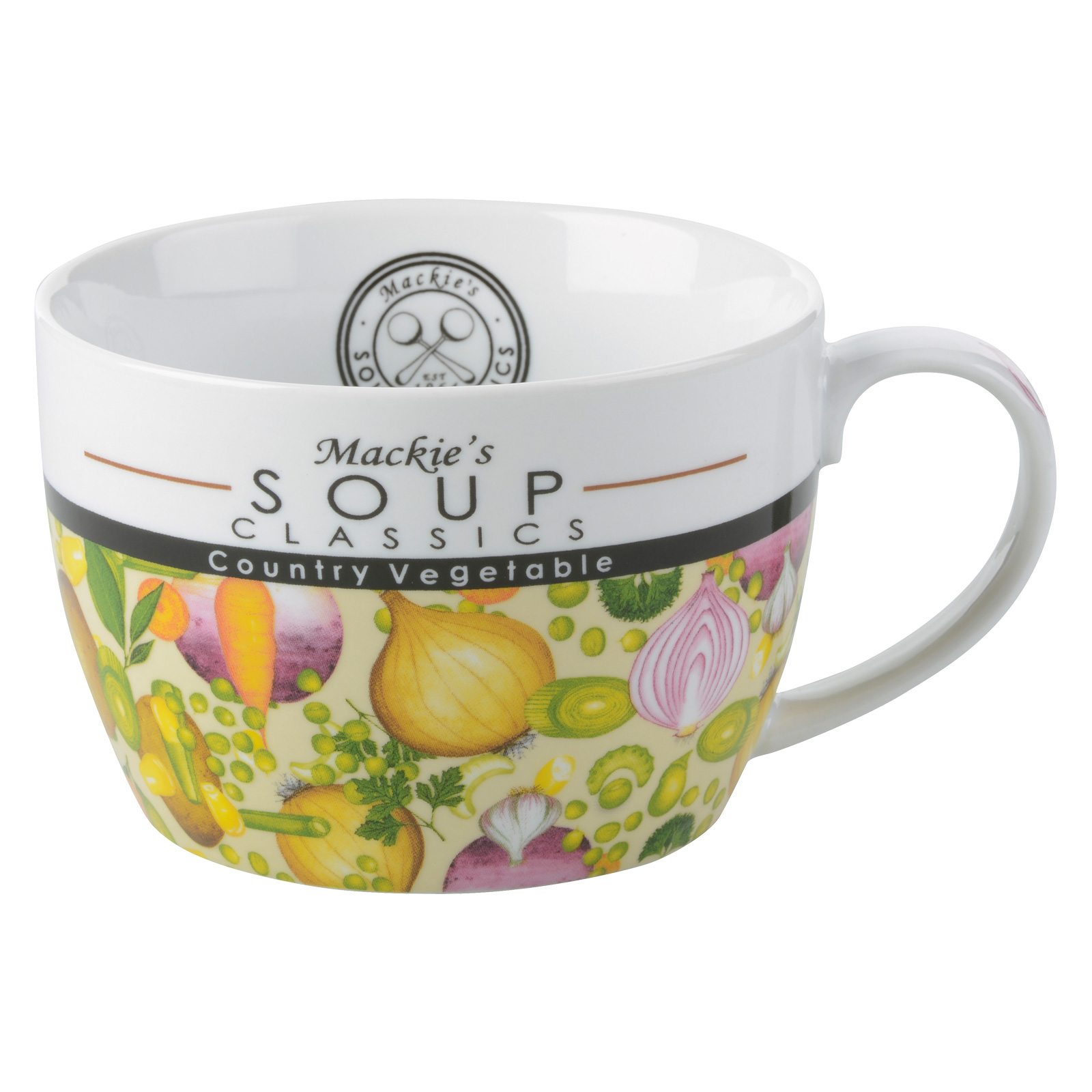 Mackie's Country Vegetable Soup Mug