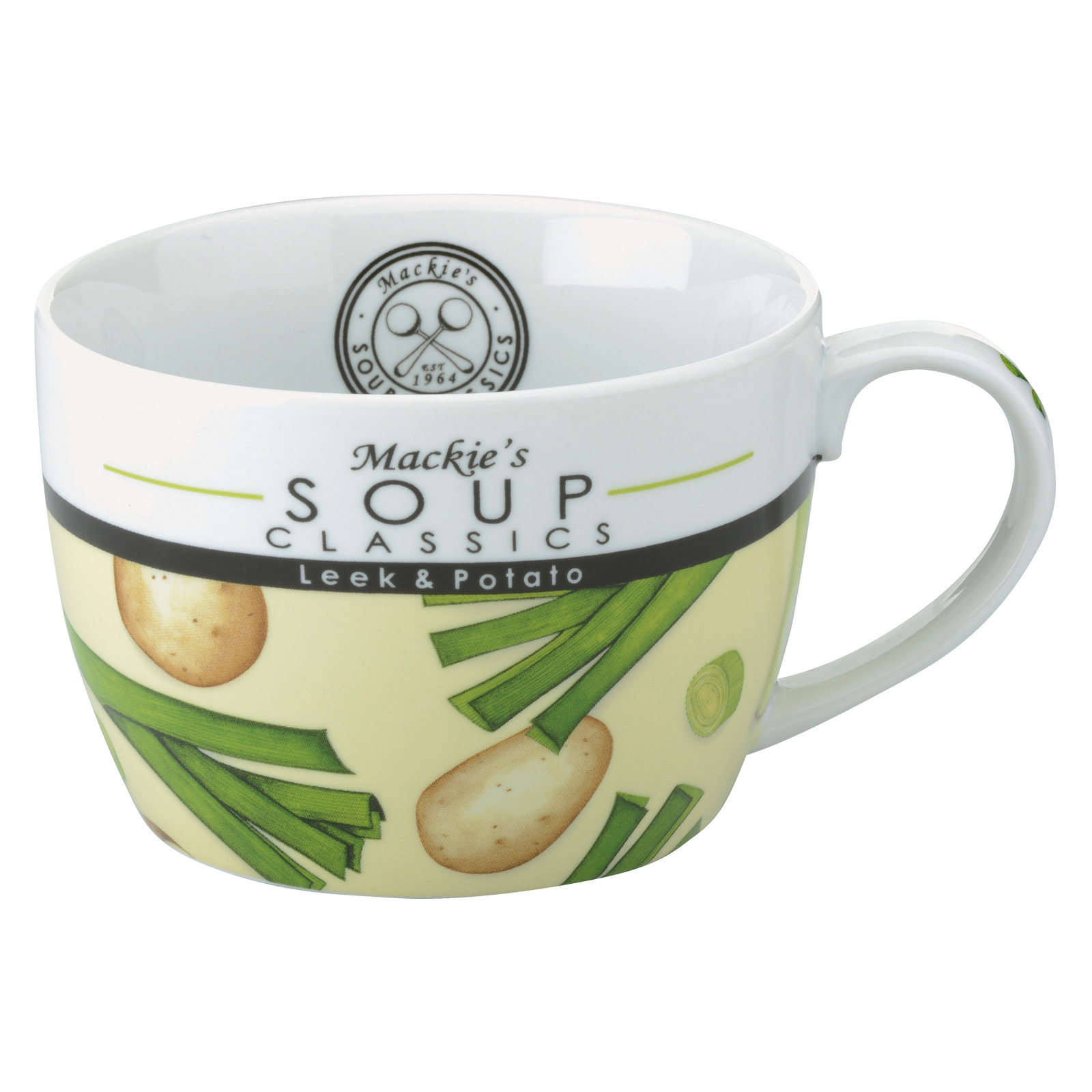 Mackie's Leek & Potato Soup Mug