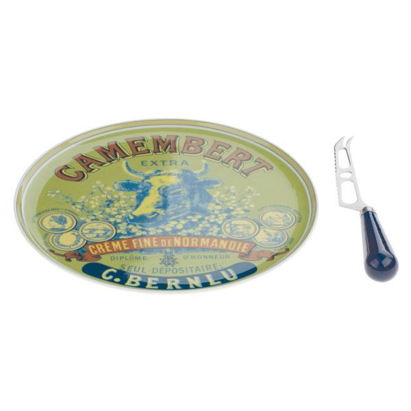 Cow's Head Camembert Cheese Platter & Knife