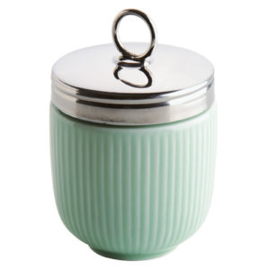 Fluted Egg Coddler Celadon Green