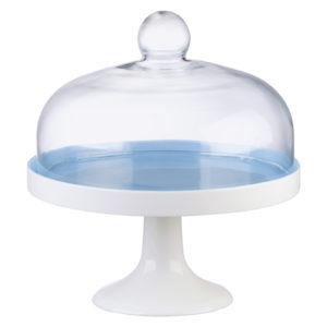 Elegance Cake Stand Blue - Complete Set