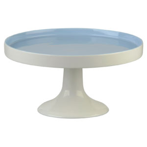Elegance Cake Stand Blue - Base Only