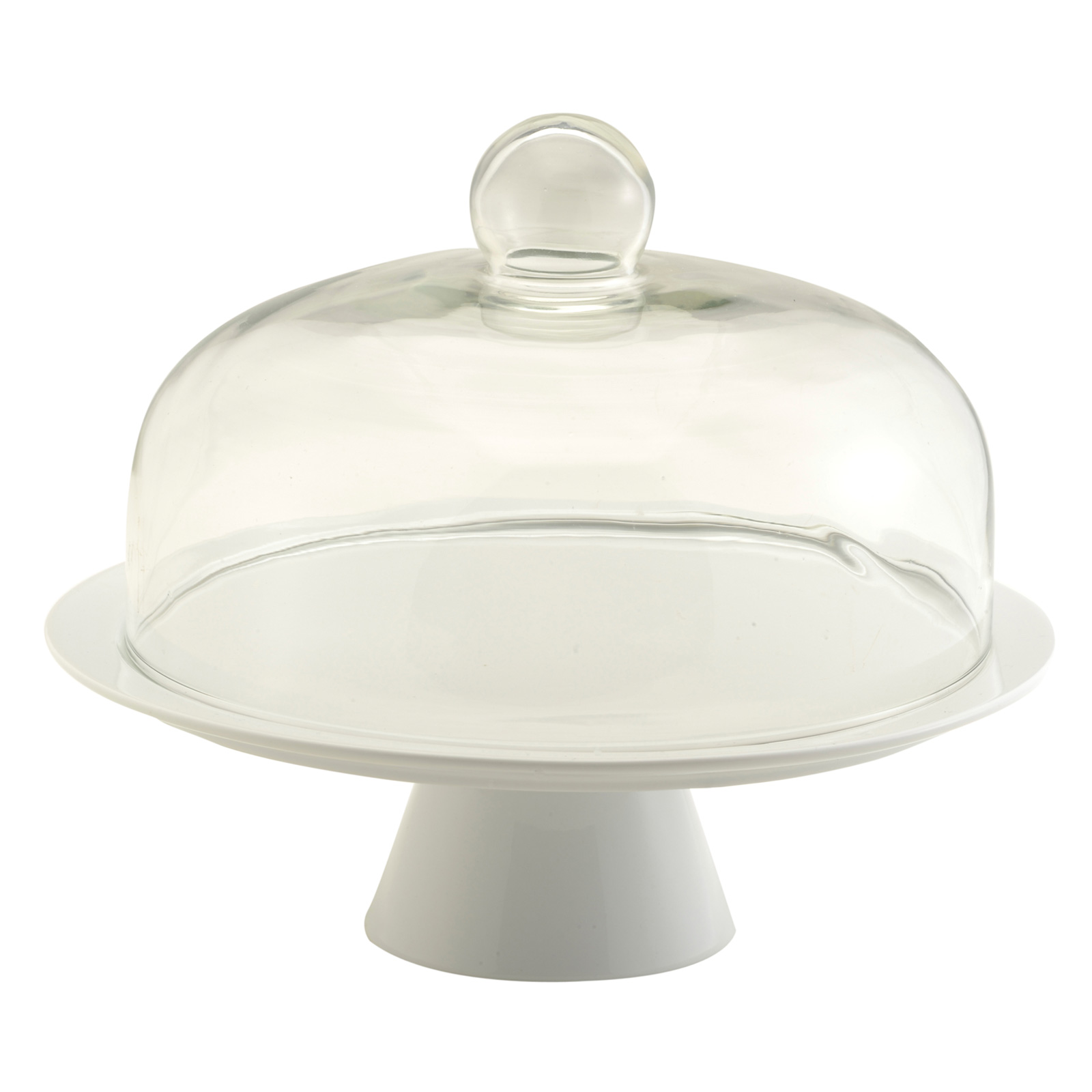 Cake Stand with Dome - Complete Set