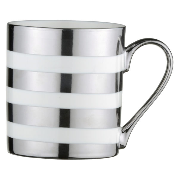 Stripes Mug Platinum