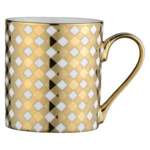 Tartan Mug Gold