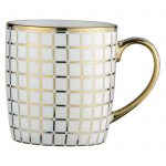 Lattice Mug Gold