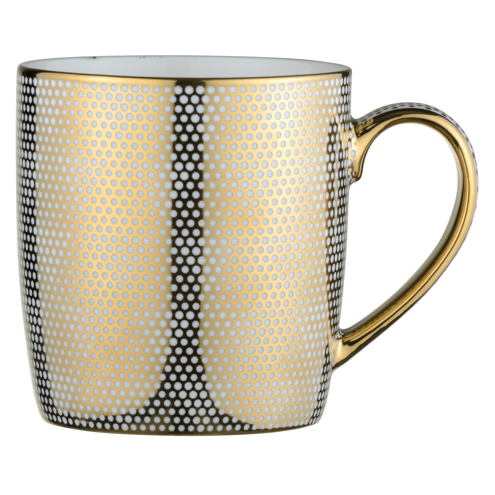 Dots Mug Gold