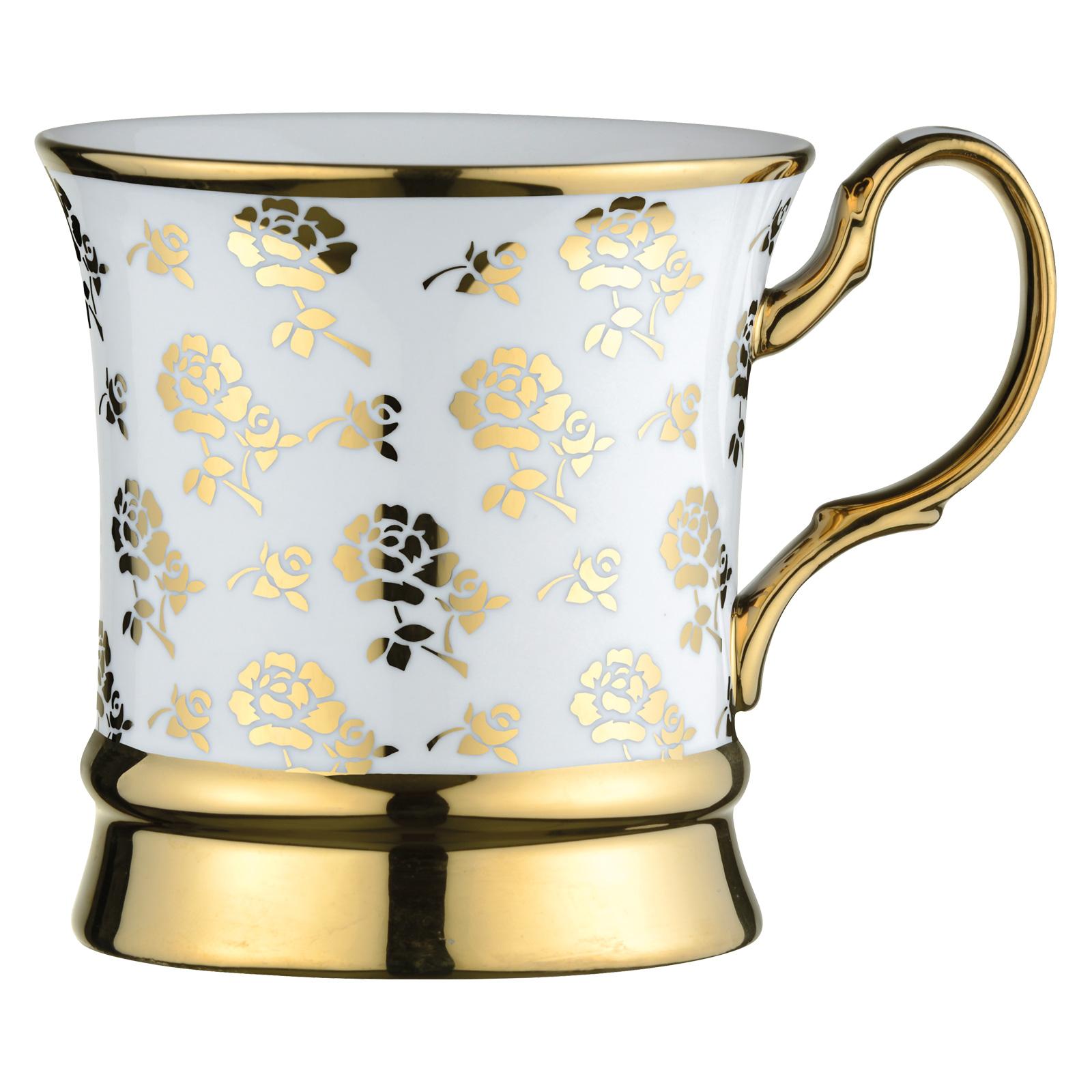 Rose Mug Gold