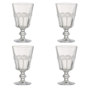 Set of 4 Pearl Ridge Wine Goblets