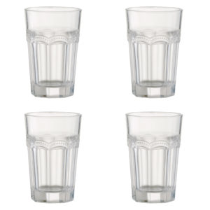 Set of 4 Pearl Ridge Hiball Tumblers
