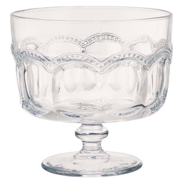 Pearl Ridge Trifle Bowl