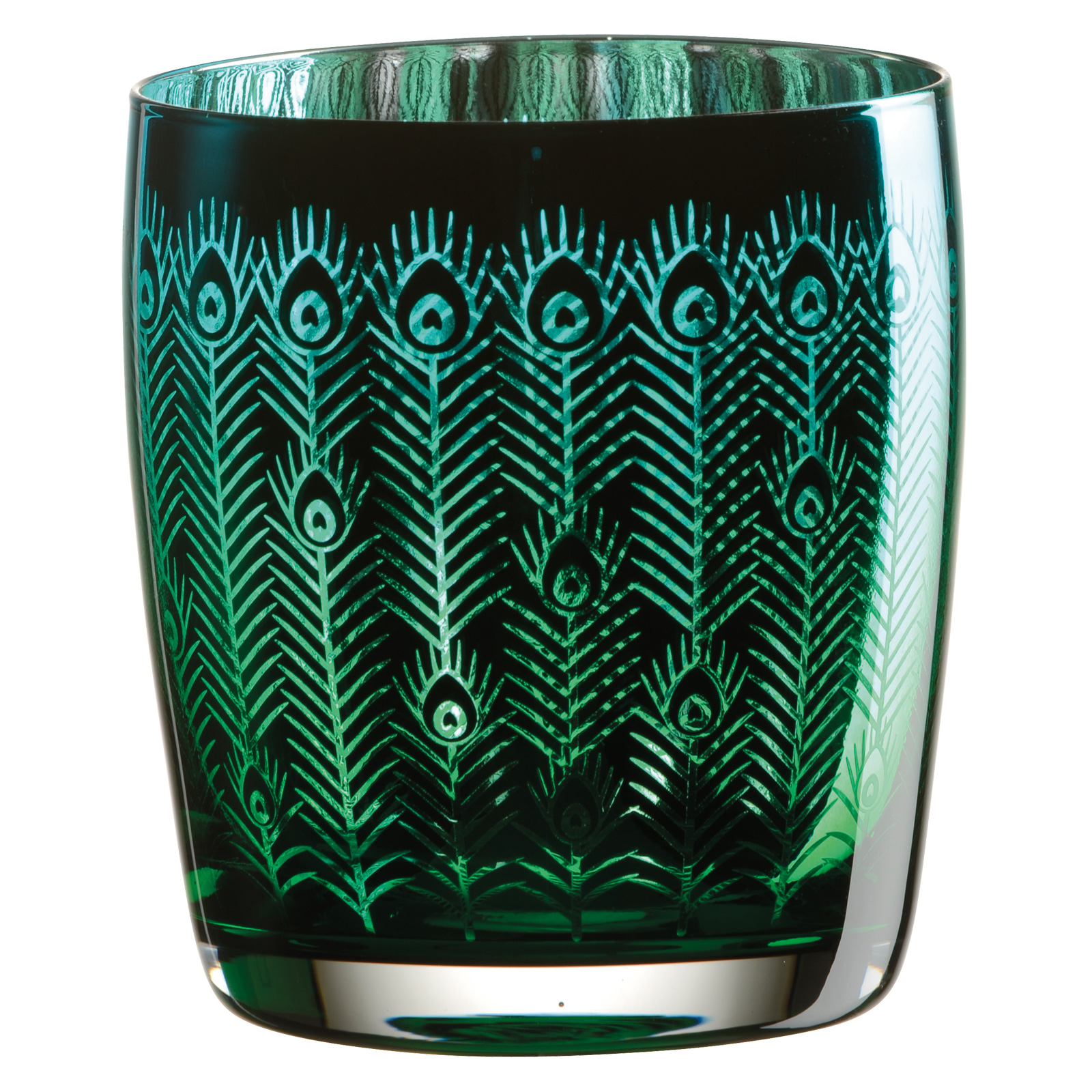 Set of 2 Peacock DOF Tumblers
