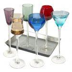 7 Piece Long Stem Liqueur Set