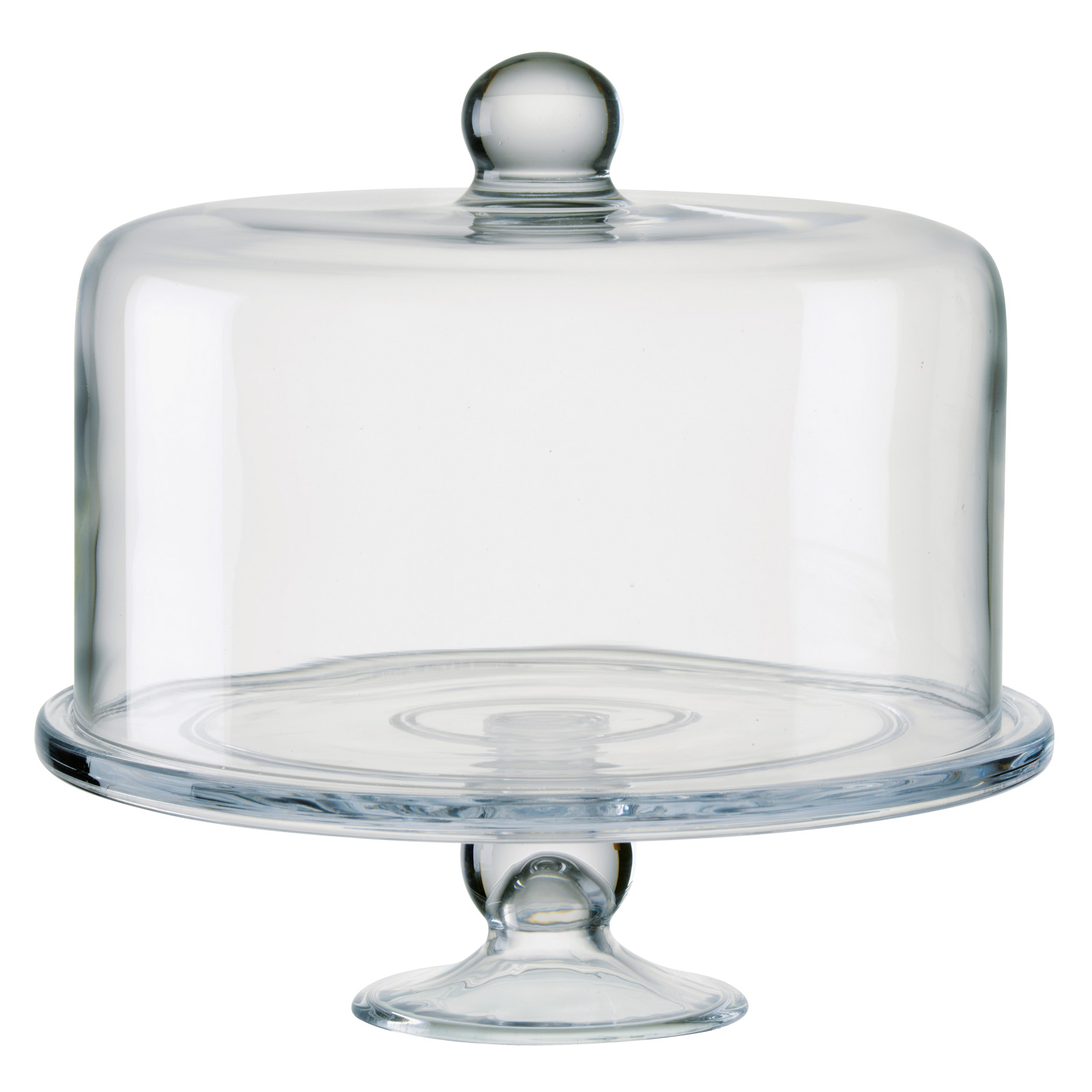 Simplicity Cake Stand with Straight Sided Dome