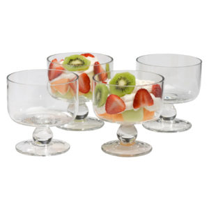 Set of 4 Simplicity Individual Trifle Bowls