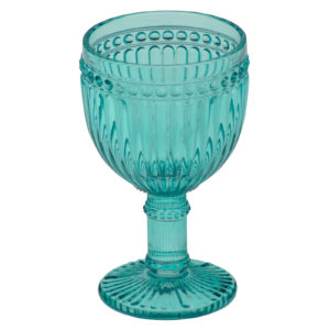 Loire Wine Glass Aqua Blue