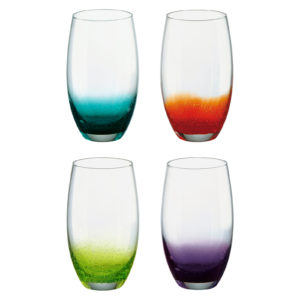 Set of 4 Fizz Hiball Tumblers