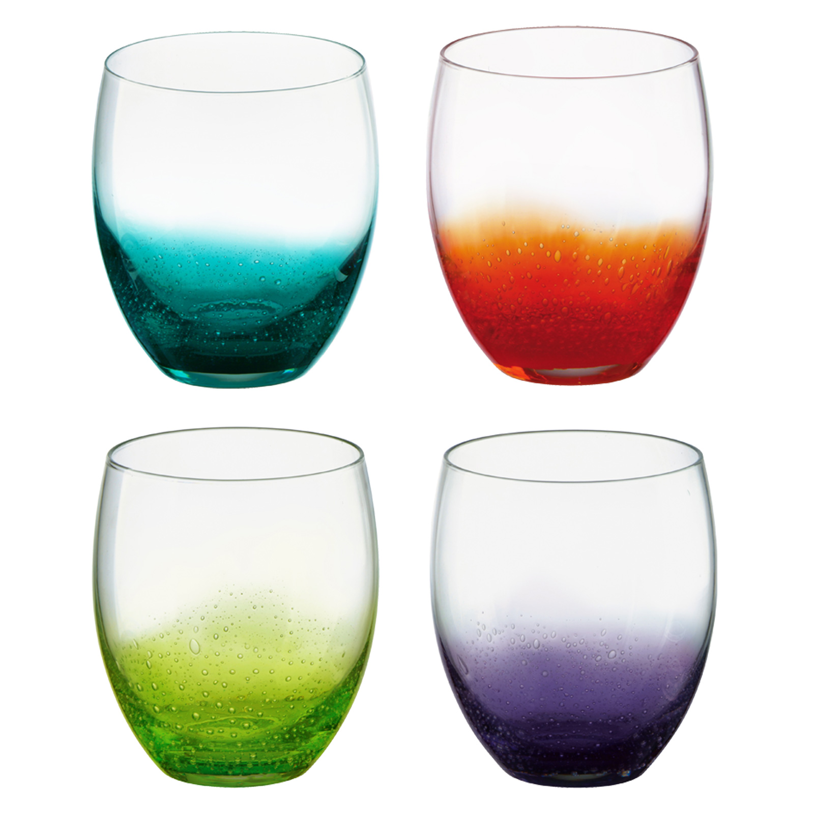 Set of 4 Fizz DOF Tumblers