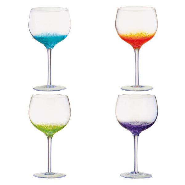 Set of 4 Fizz Gin Glasses