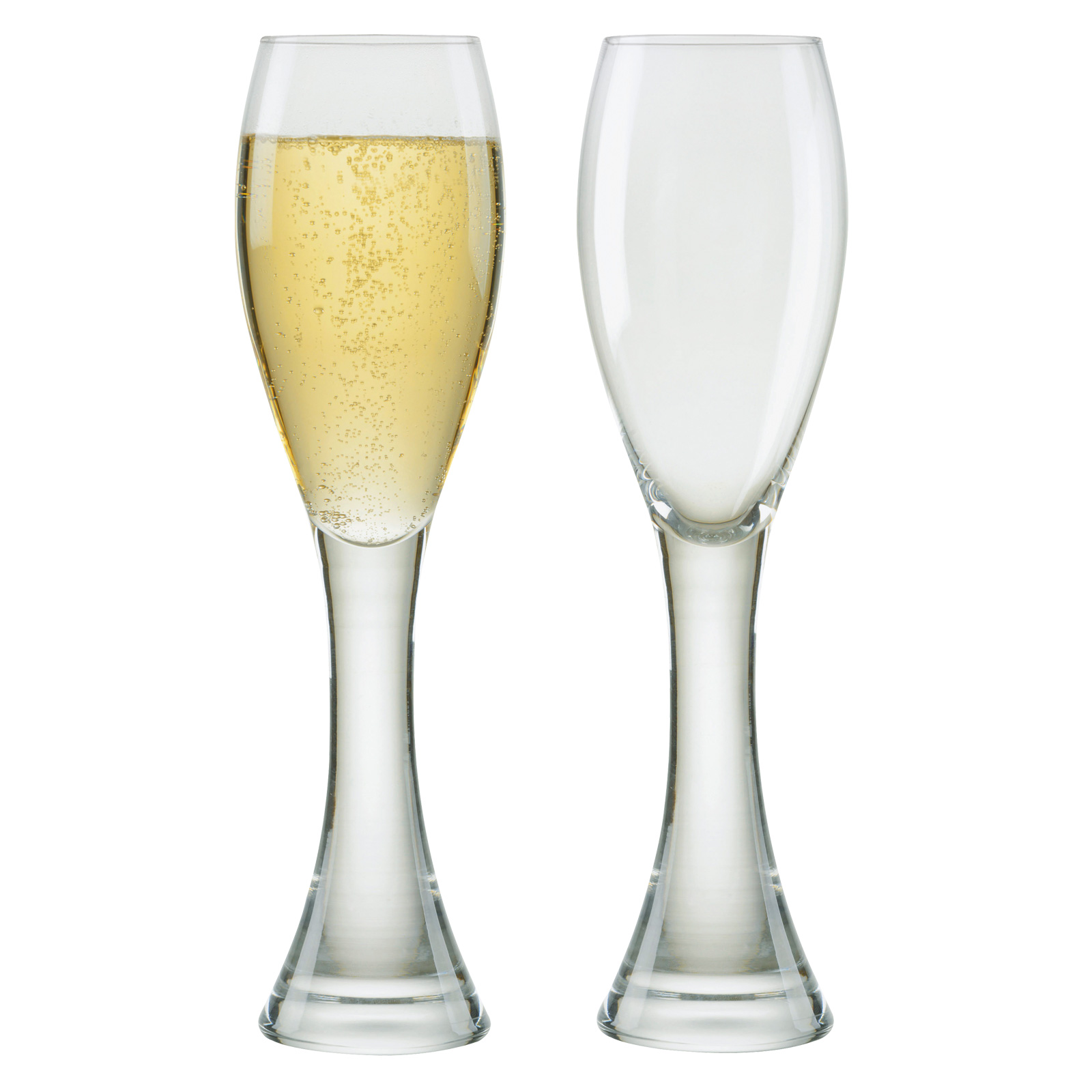 Set of 2 Manhattan Champagne Flutes