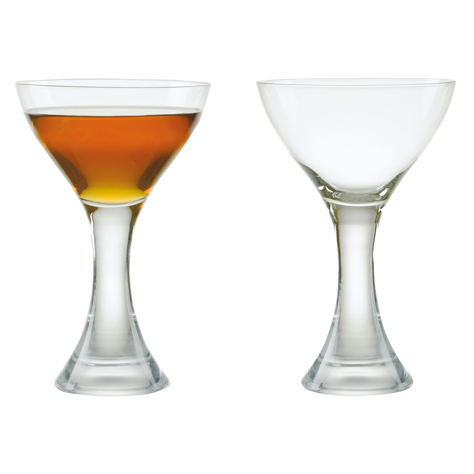 Set of 2 Manhattan Cocktail Glasses