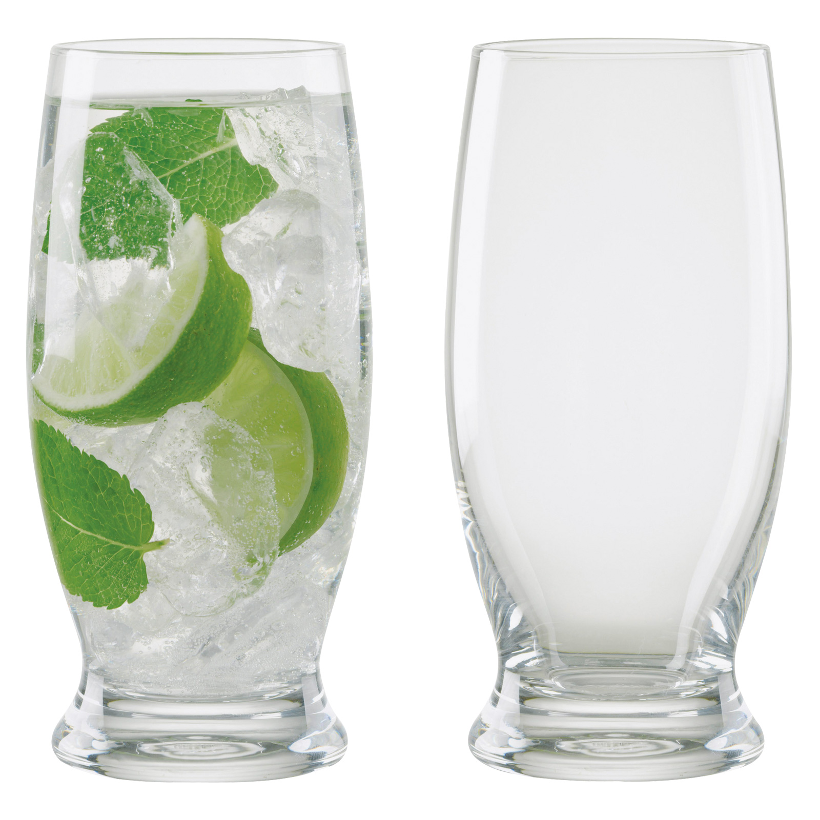 Set of 2 Manhattan Long Drink Glasses