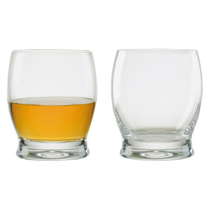 Set of 2 Manhattan Whisky Glasses