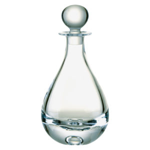 Bubble Base Teardrop Decanter