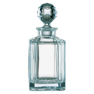 Plain Square Decanter (Non Lead)