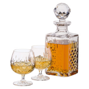 Dorchester Square Decanter Fully Cut (24%)