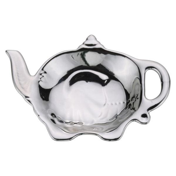 Elephant Teabag Tidy Platinum