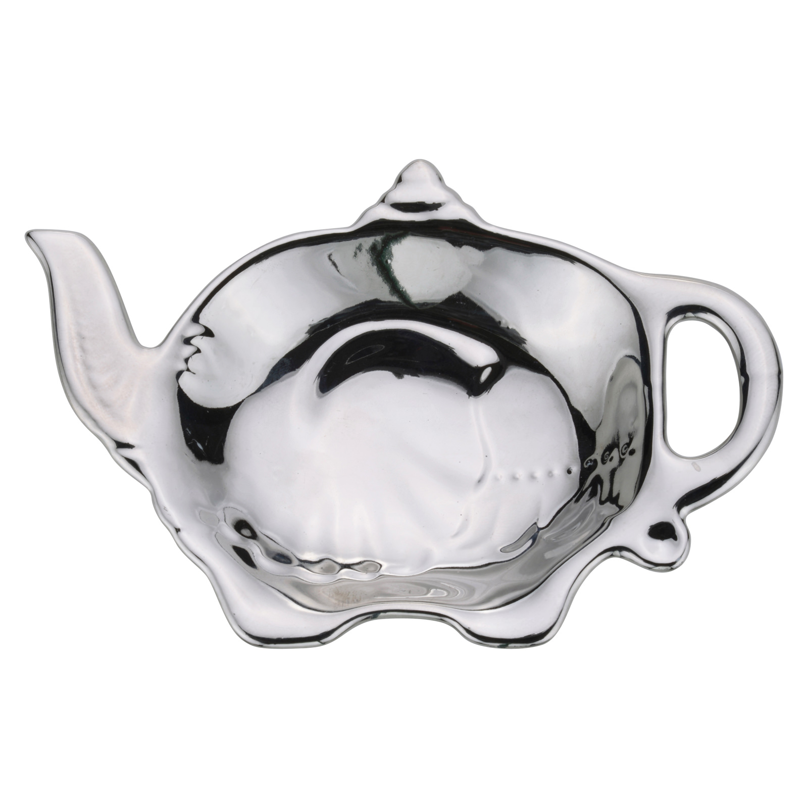 Elephant Teabag Tidy Platinum