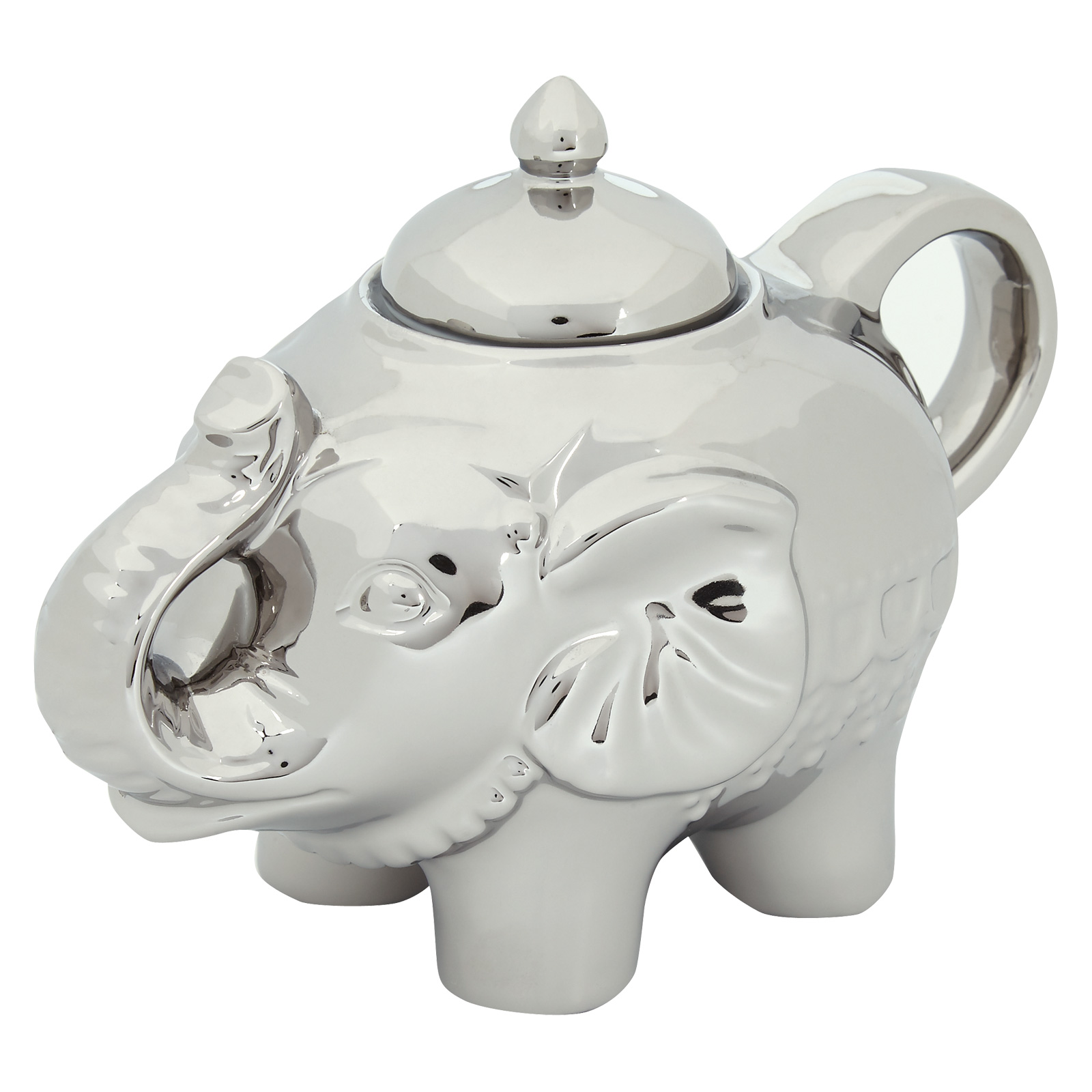 Elephant Sugar Pot Platinum