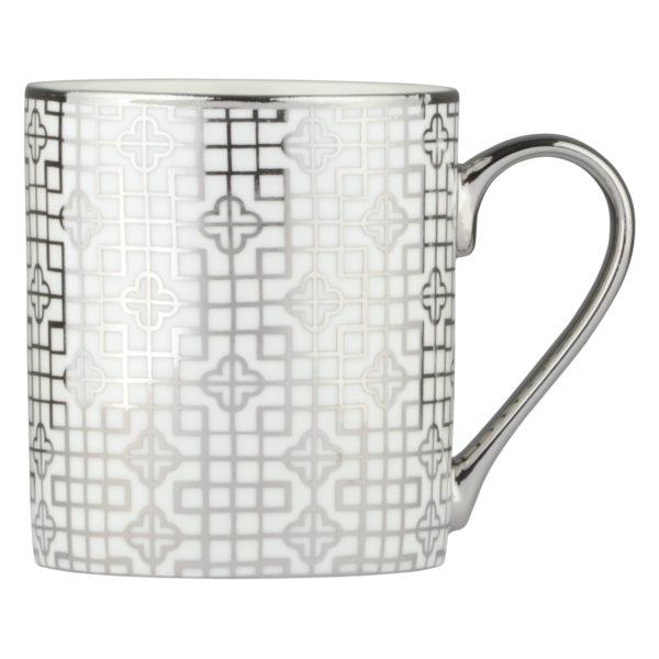 Art Deco Mug Platinum