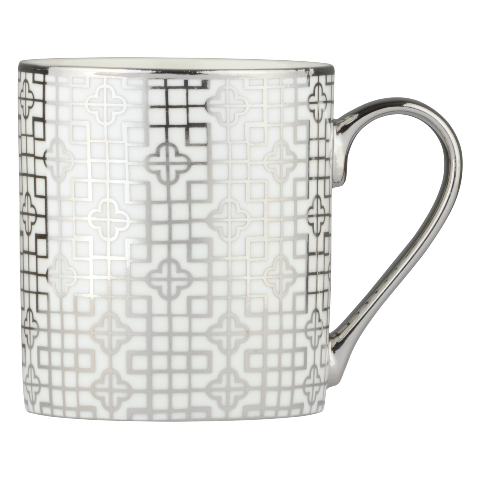 Art Deco Mug Platinum