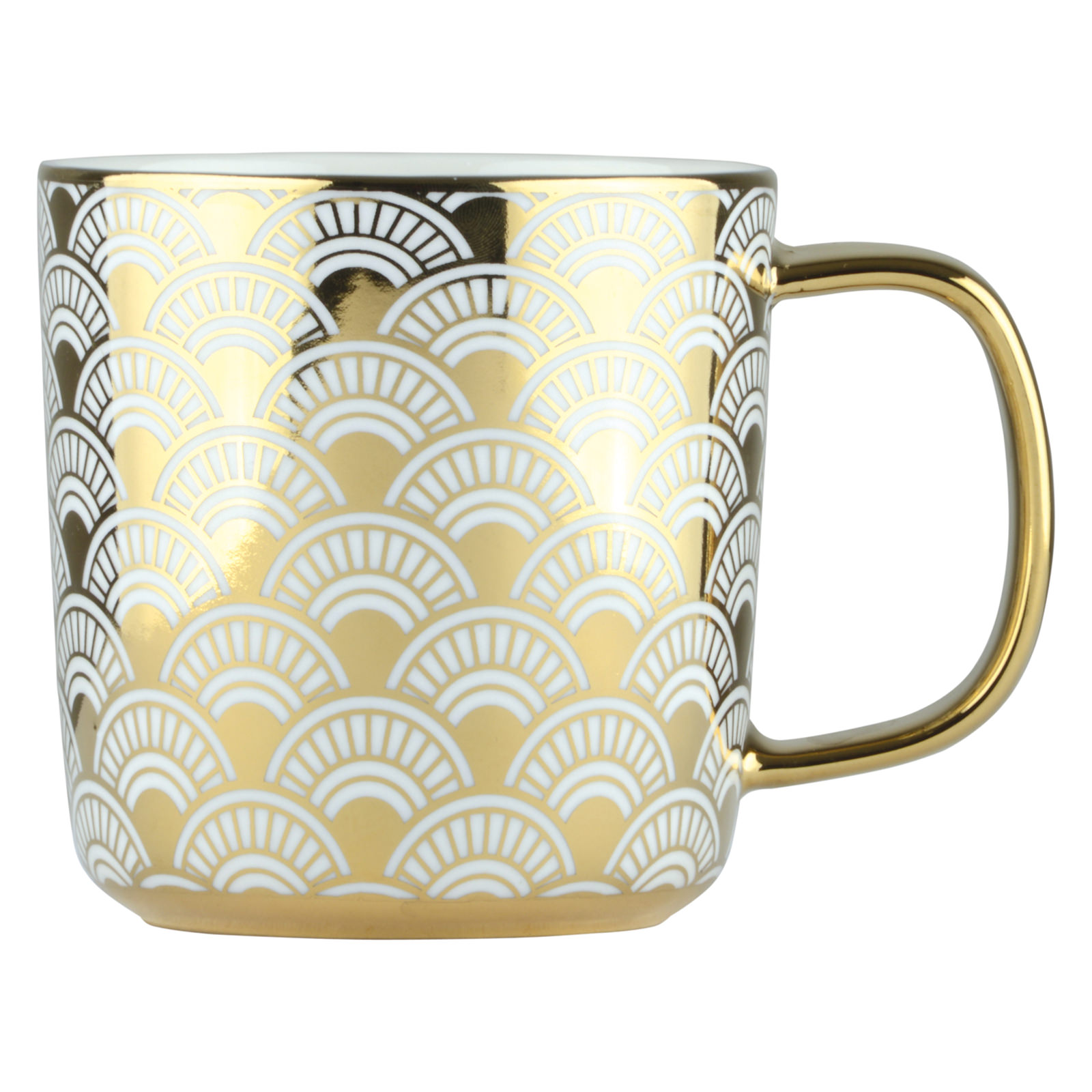 Fan Mug Gold