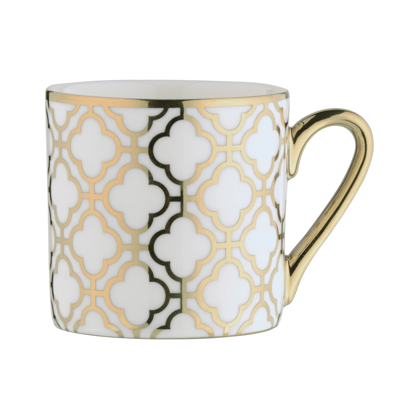 Links Espresso Mug Gold