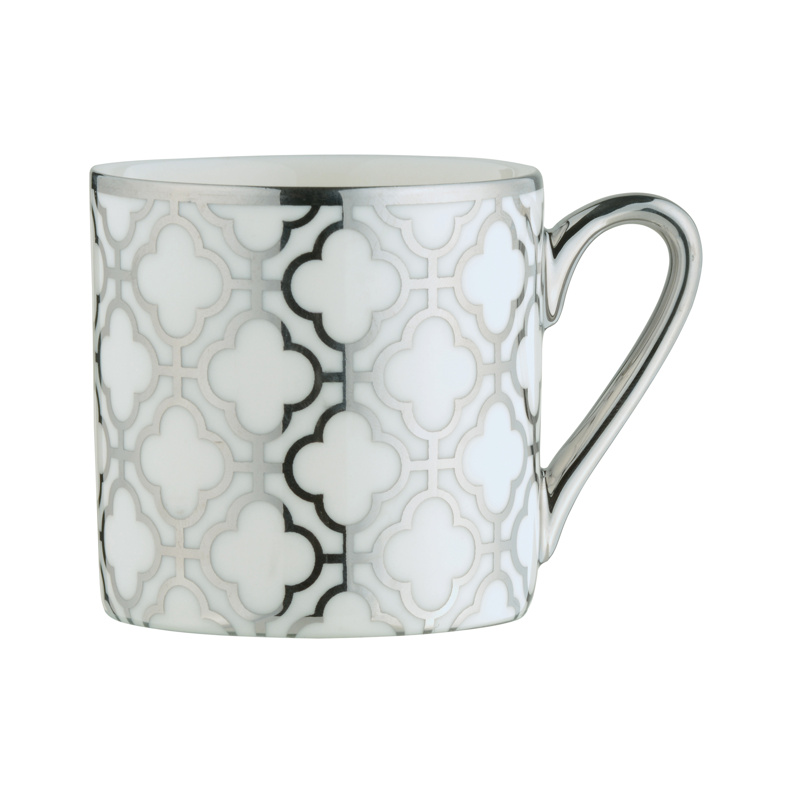 Links Espresso Mug Platinum