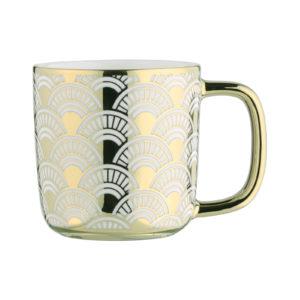Fan Espresso Mug Gold