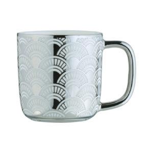 Fan Espresso Mug Platinum