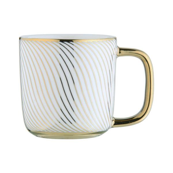 Swirl Espresso Mug Gold