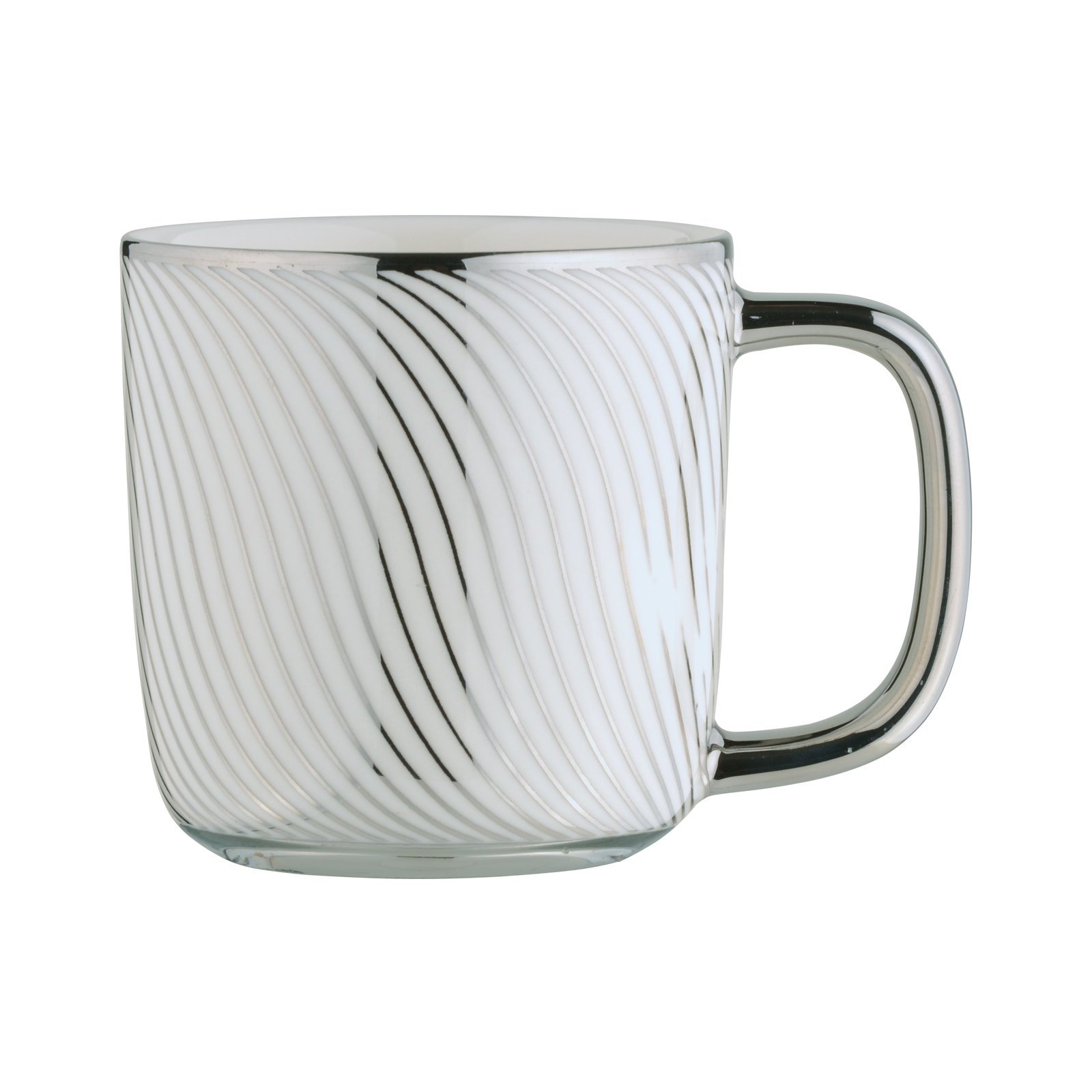 Swirl Espresso Mug Platinum