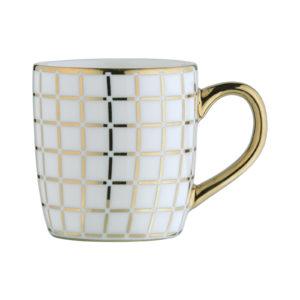 Lattice Espresso Mug Gold